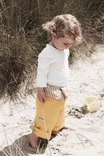 Limited Edition Yellow - Thai Fisherman Trousers - 0-3 yrs