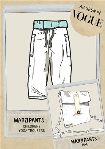 Limited Edition White - Thai Fisherman Trousers - 3-10 yrs