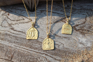 COURAGE - INTENTION NECKLACE (GOLD)