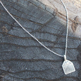 SILVER INTENTION NECKLACE - GODDESS POWER