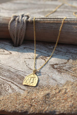 PROTECTION - INTENTION NECKLACE (GOLD)