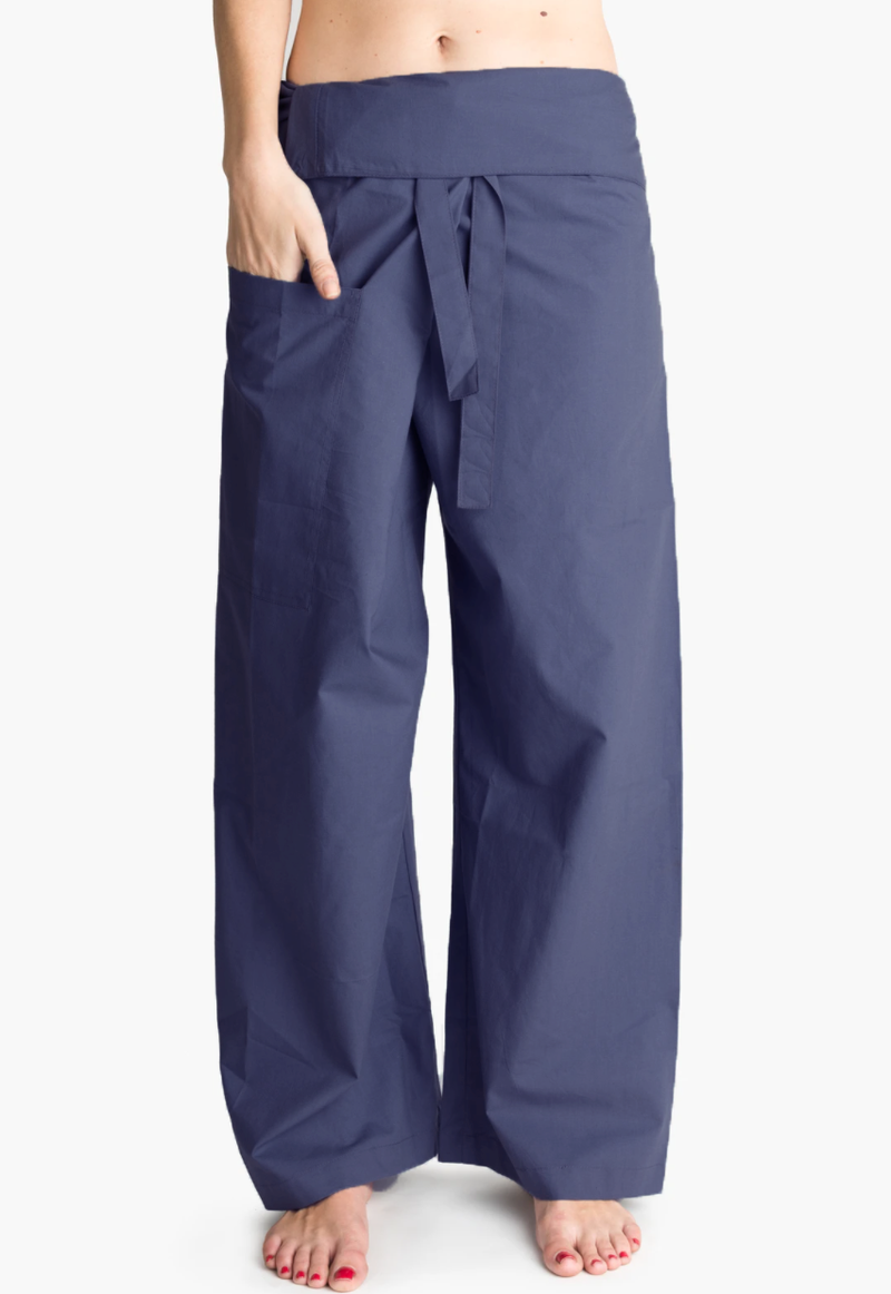 Yoga / Thai Fisherman Trousers - French Grey