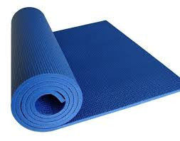 Extra Thick Yoga Mat - Blue