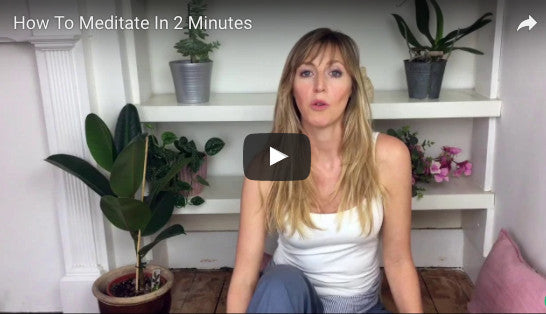 How TO MEDITATE IN 2 MINUTES