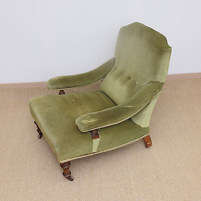 Victorian Button Back Armchair c1890