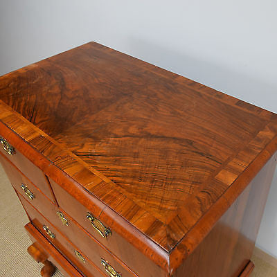 Georgian Walnut Chest of Drawers