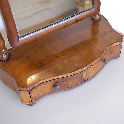 Victorian Walnut Dressing Table Mirror