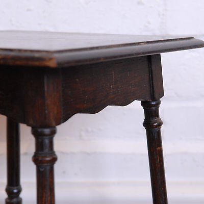 Antique Waring & Gillow Oak Table