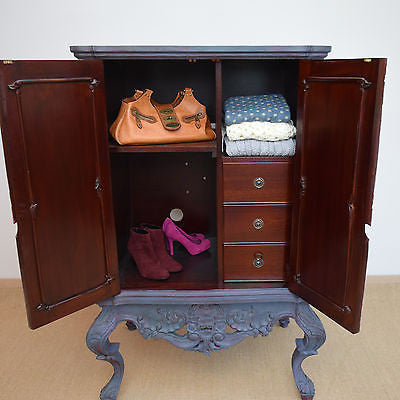 Shabby Chic Chinese Style Cabinet