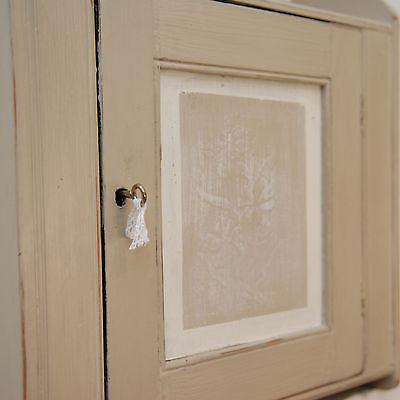 Vintage Shabby Chic Small Country Cupboard