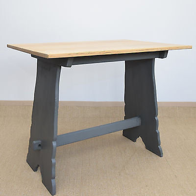 Small Vintage Oak Dining Table