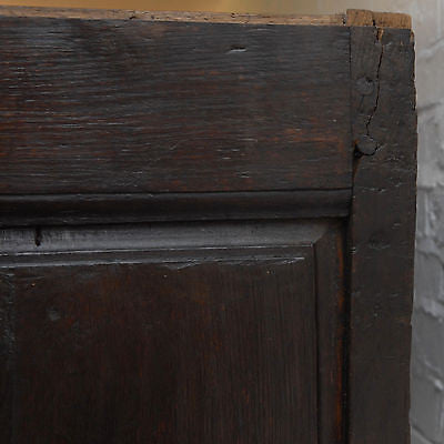 Early Continental Oak Armoire