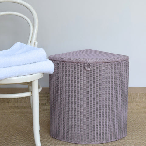 1960's Lusty LLoyd Loom Linen Basket