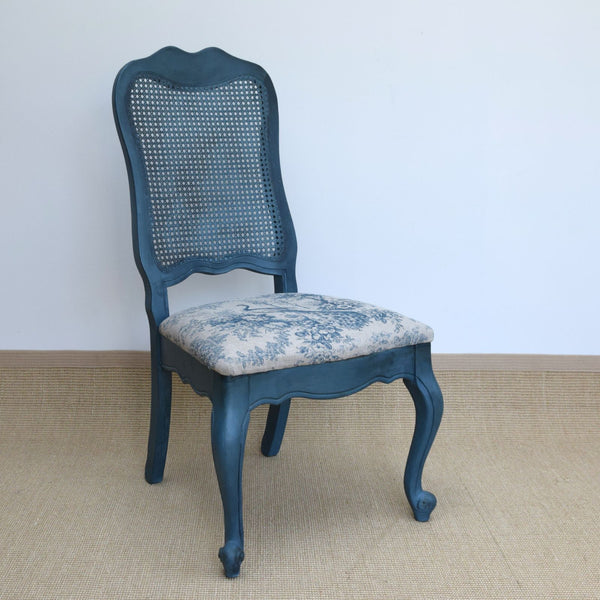 Occasional Chair Painted in Annie Sloan's Aubusson