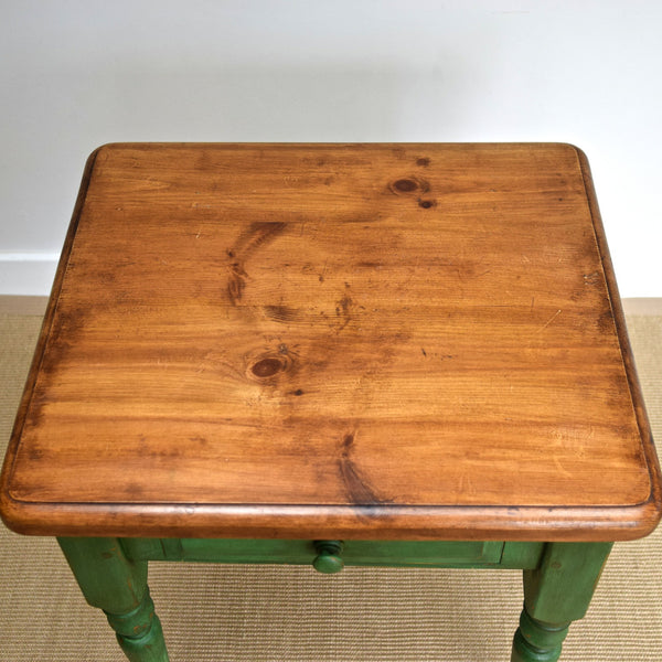 Small Painted Pine Kitchen Table