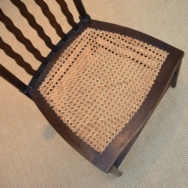 Antique Country Kitchen Chair