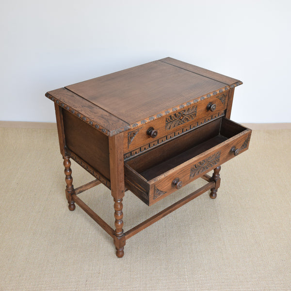 Mid 20th Century Oak Writing Desk