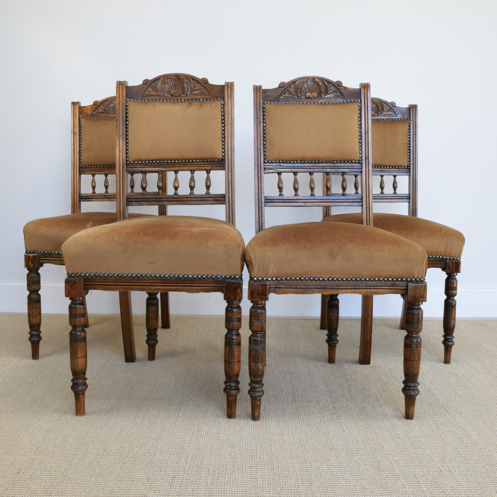 Set of 4 Antique Dining Chairs