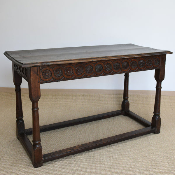 Antique 17th Century Oak Side Table