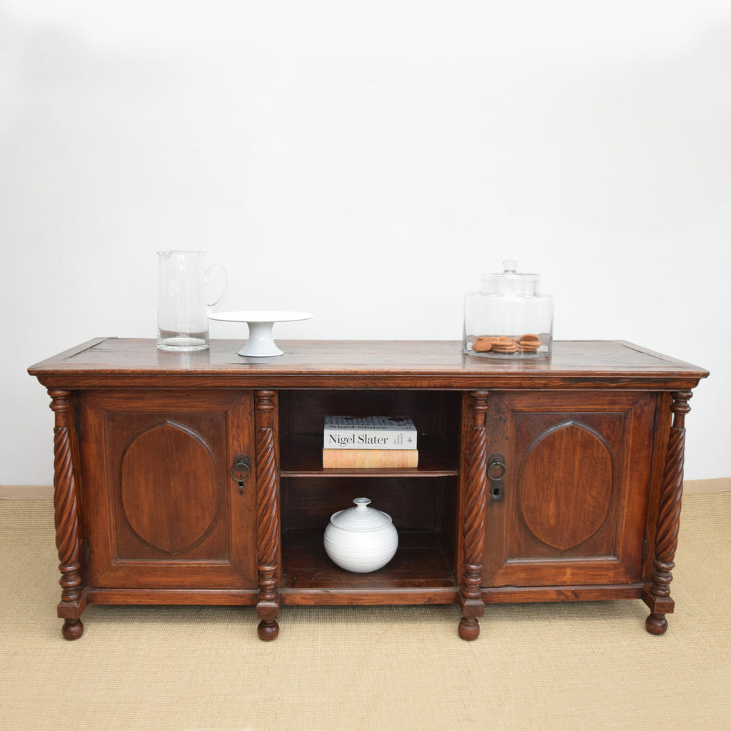 Antique Anglo Indian Sideboard