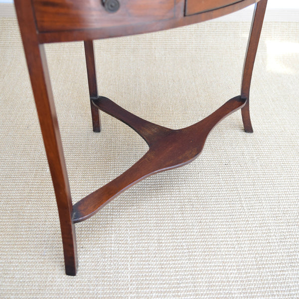 Antique Mahogany Display Stand