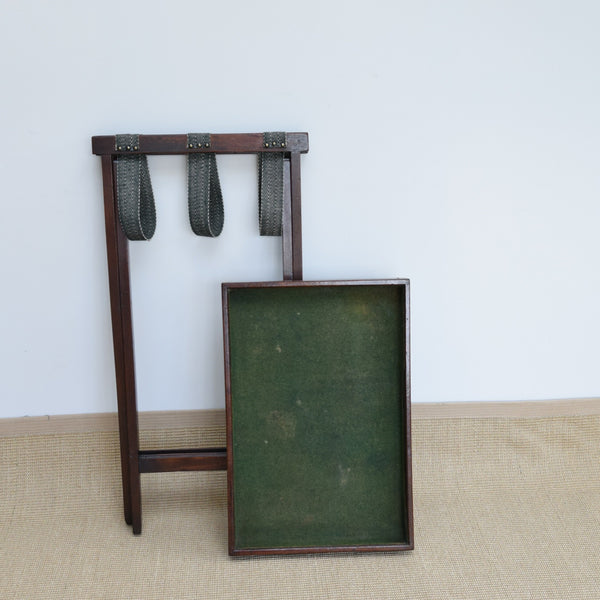 Antique Butler's Tray & Stand
