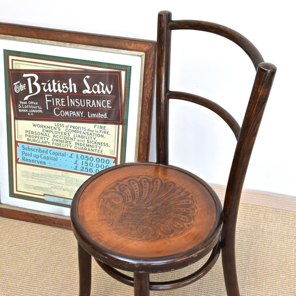Vintage Bentwood French Bistro Chair