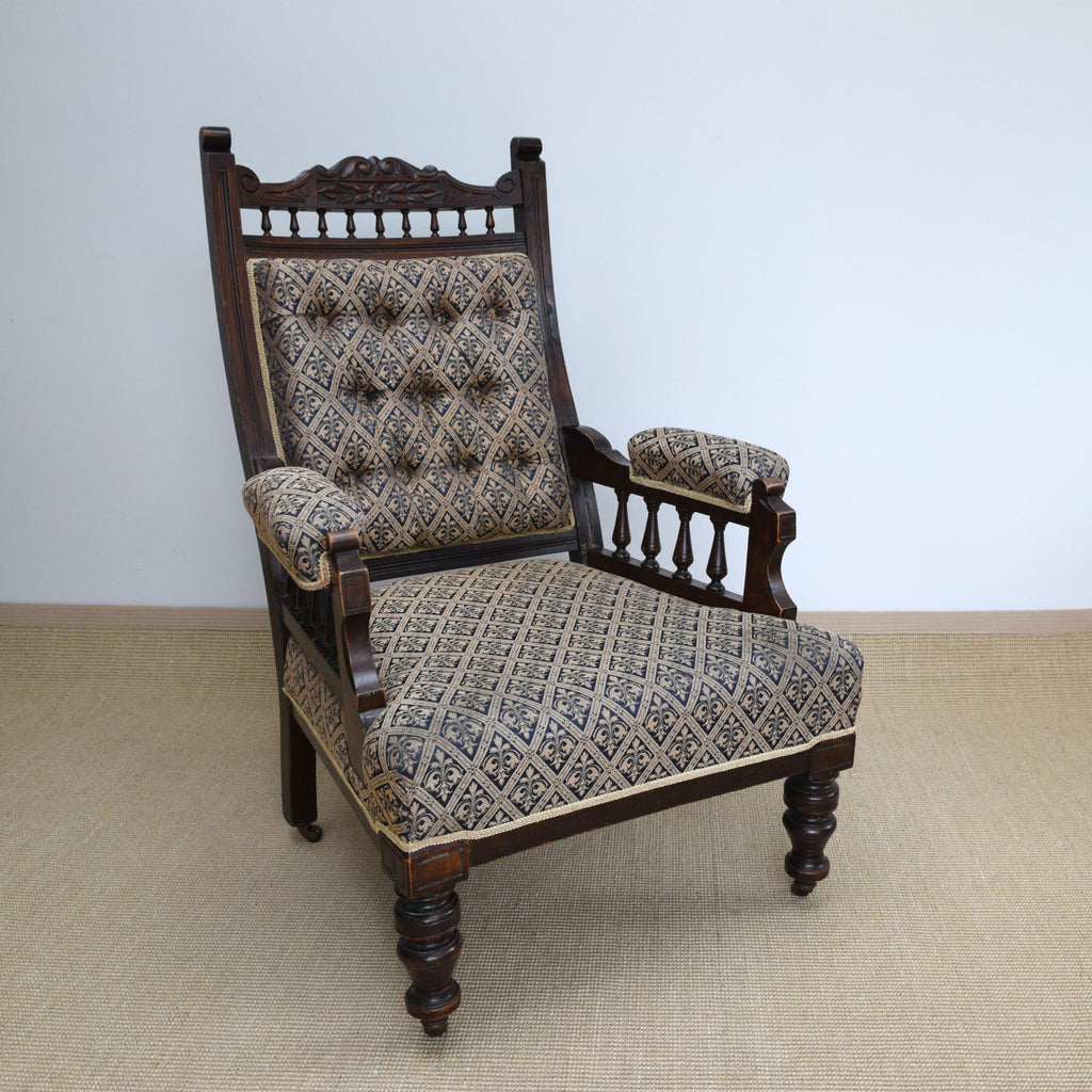 Antique Victorian Arm Chair