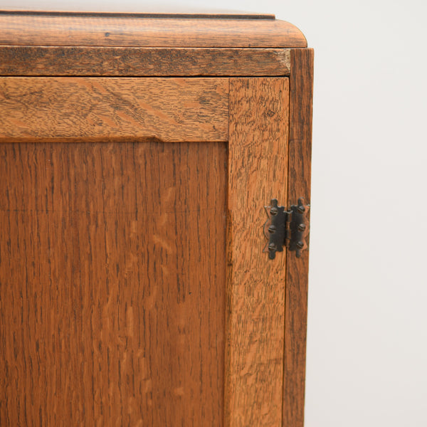 Vintage Oak Cupboard