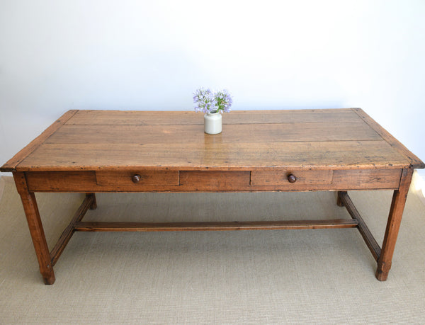 Antique French Farmhouse Kitchen Serving Table