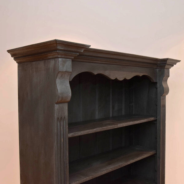 Large Painted Pine Bookcase