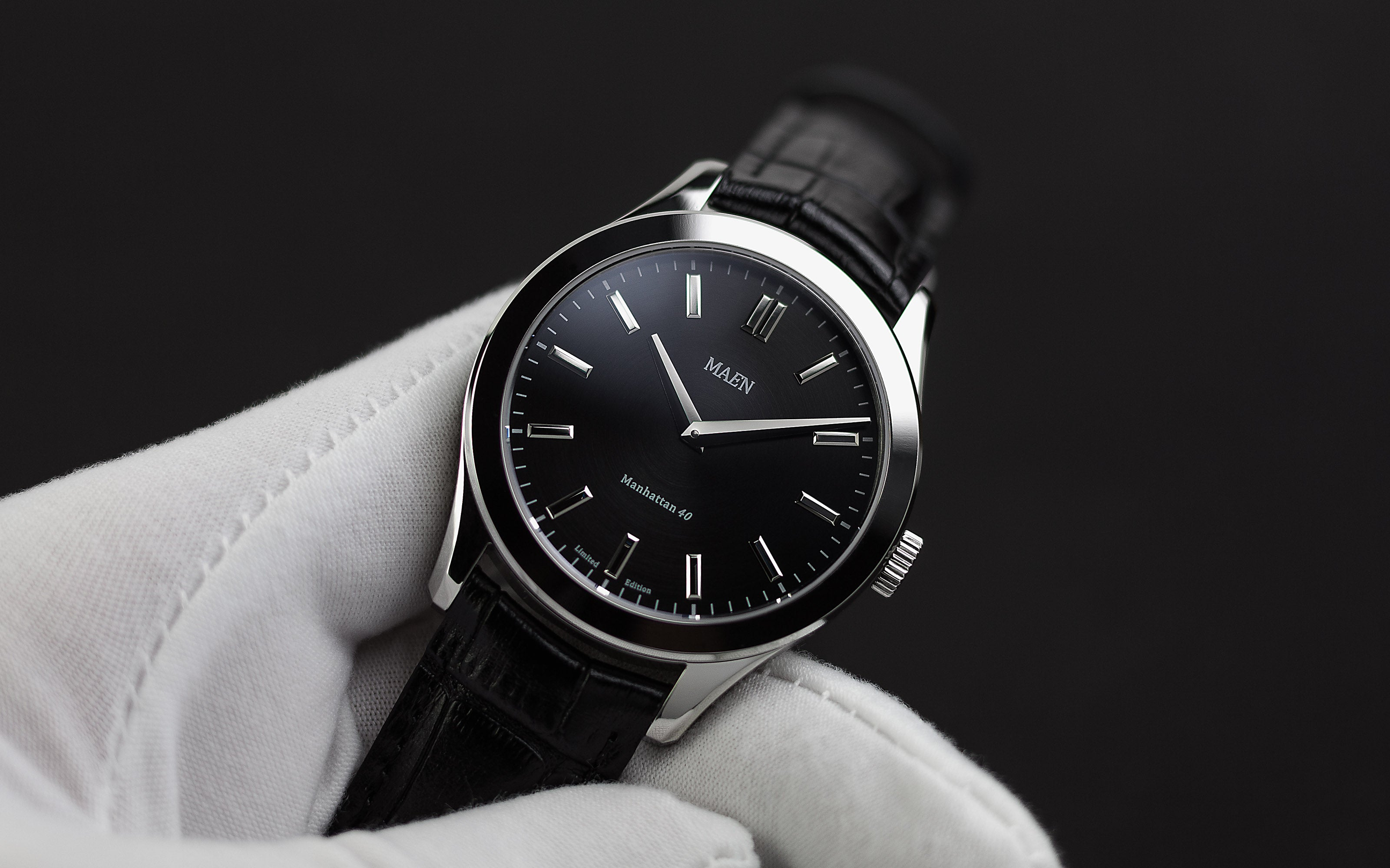 Maen Manhattan 40 Manhattan_blackdial