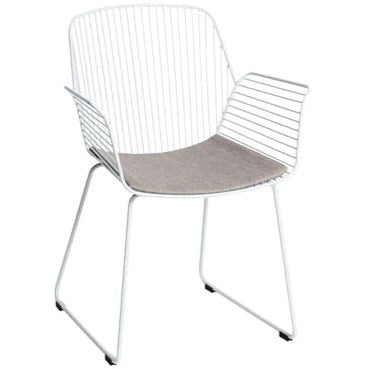 ALTO REBELLO ARMCHAIR / WHITE