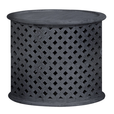 PAVILLION SIDE TABLE / CHARCOAL