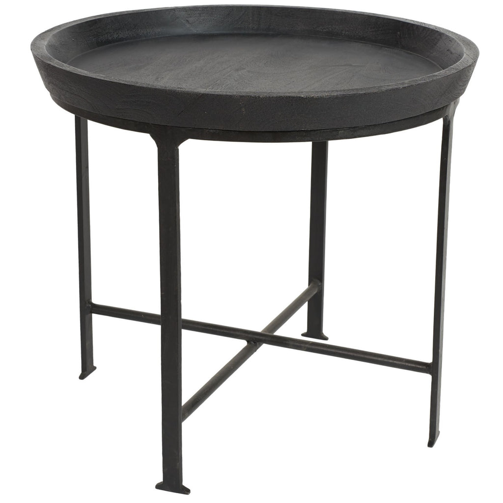 SOHO TRAY SIDE TABLE / CHARCOAL