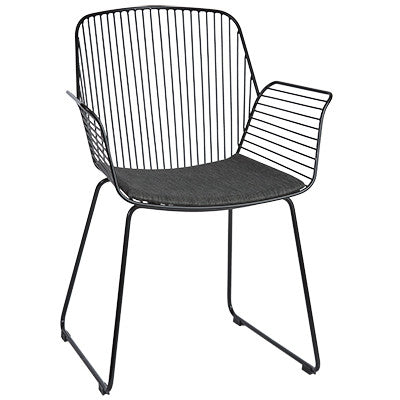 ALTO REBELLO ARMCHAIR / BLACK