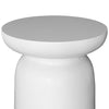 AKONI SIDE TABLE | WHITE RESIN (INDOOR-OUTDOOR)