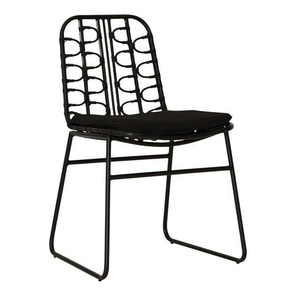 AMANZI DINING CHAIR / BLACK
