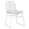 AMANZI DINING CHAIR / WHITE