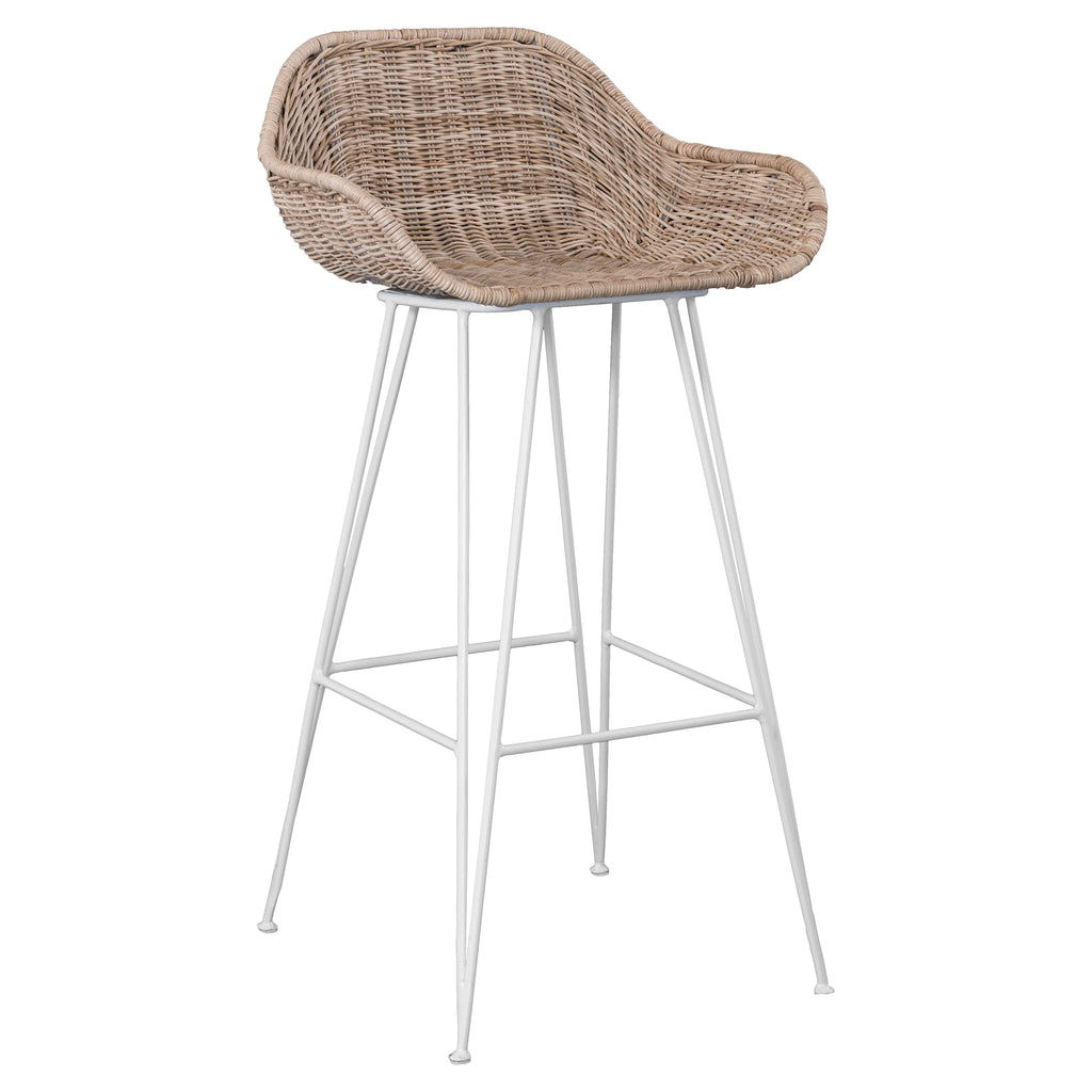 ANGOLA BARCHAIR / NATURAL / POLYRATTAN (INDOOR-OUTDOOR)