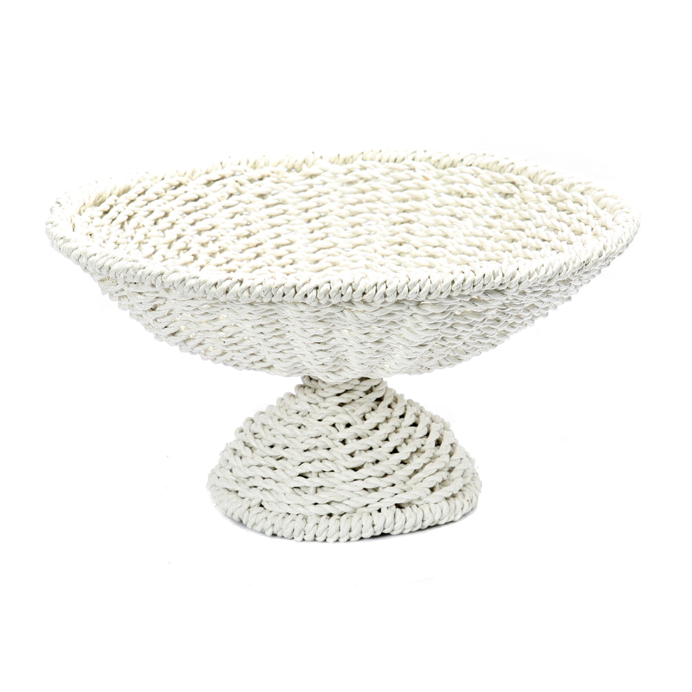 SEAGRASS FRUIT PLATTER / WHITE