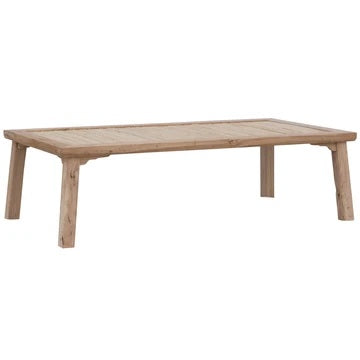 BAMBOO COFFEE TABLE / BLONDE