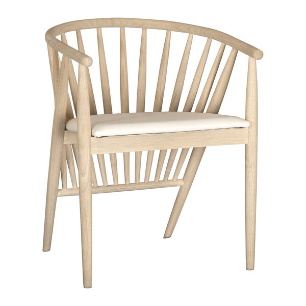 BELIZE DINING CHAIR / WHITE