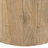 BRUNSWICK BAR TABLE / RECLAIMED ELM WOOD / WHITE