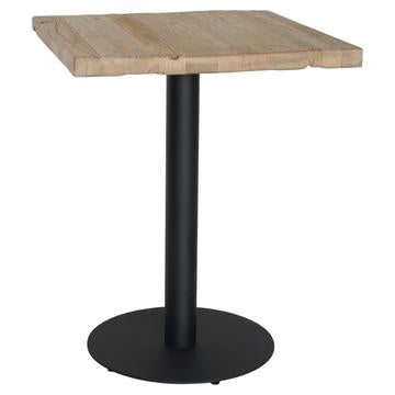 BRUNSWICK DINING TABLE / RECLAIMED ELM WOOD / BLACK