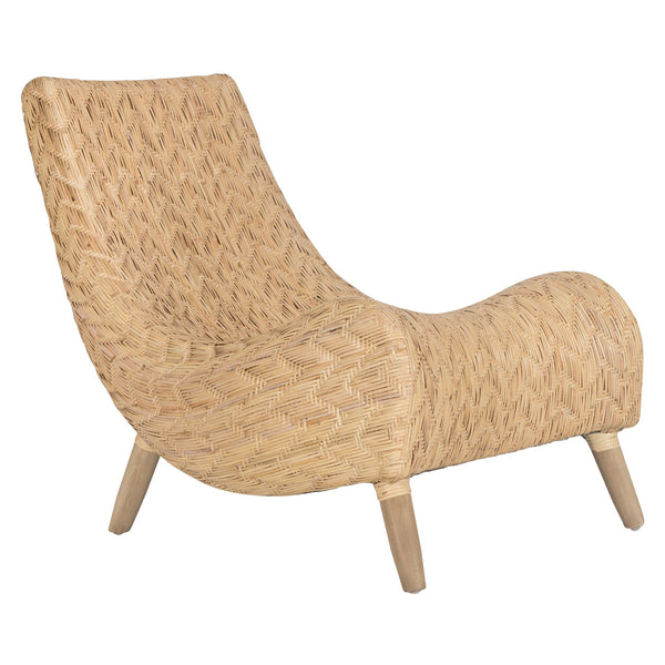 CAMEROON OCCASIONAL CHAIR / INDOORS-OUTDOORS / NATURAL