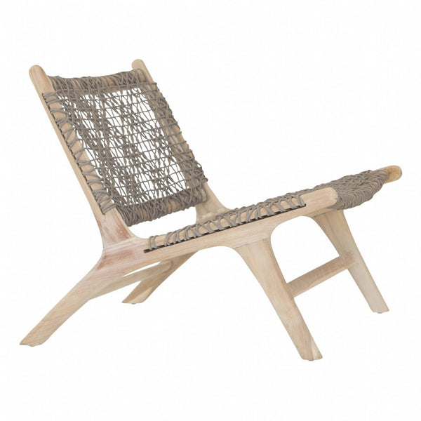 CAPE TOWN OCCASIONAL CHAIR | TAUPE OUTDOOR ROPE