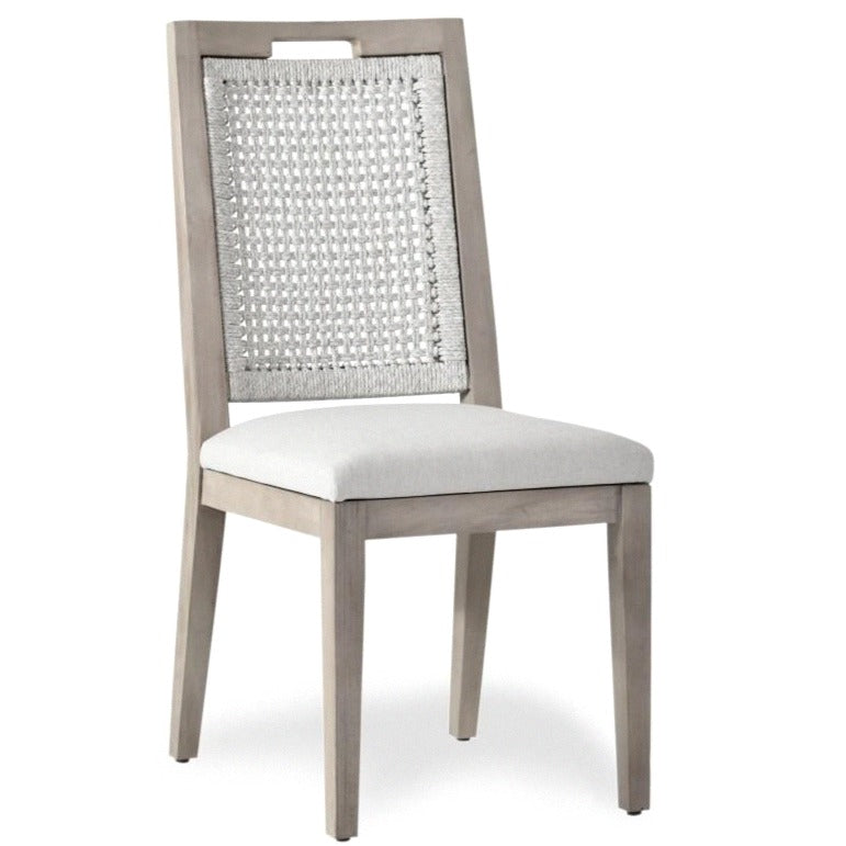 EMMY DINING CHAIR / UPHOLSTERED SEAT