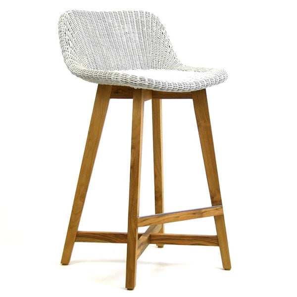SKAL BARSTOOL - 2 SIZES / ICE WHITE (INDOOR-OUTDOOR)