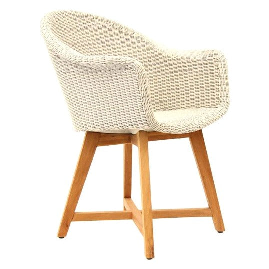 SKAL ARM CHAIR / ICE WHITE (INDOOR-OUTDOOR)